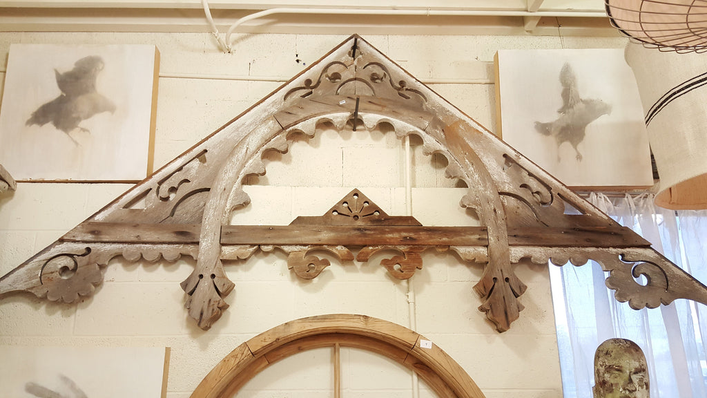 Large Architectural Fretwork Piece
