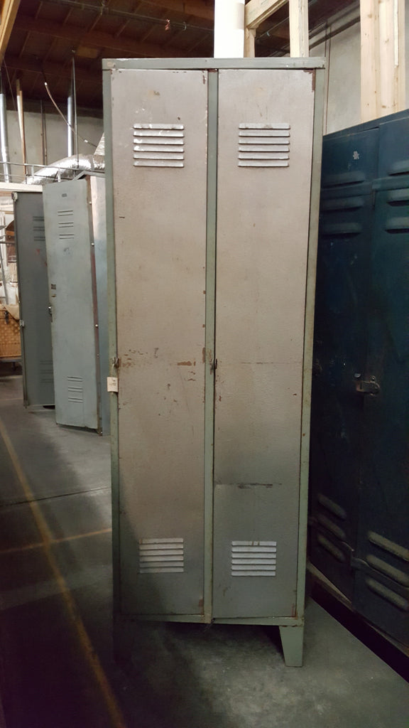 Vintage Double Lockers