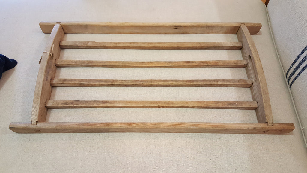 Antique Wood Drying Rack