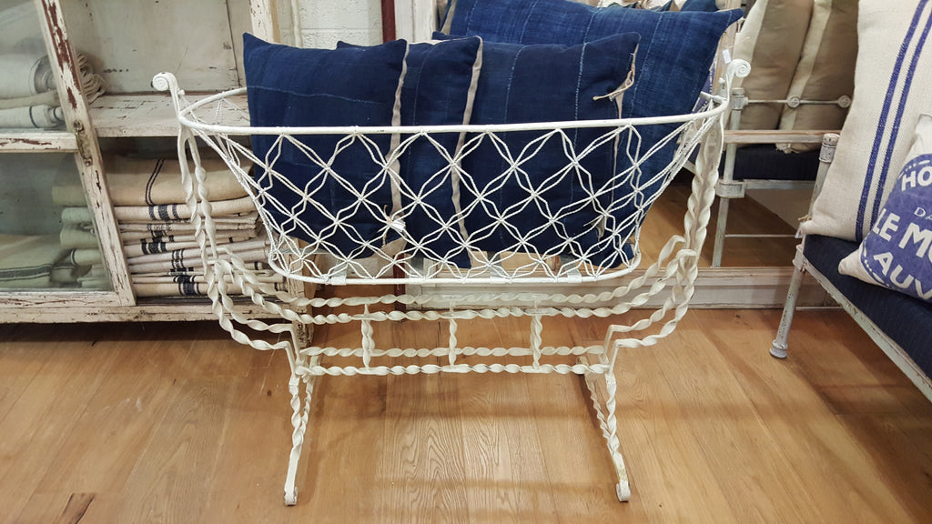 French Metal Bassinet