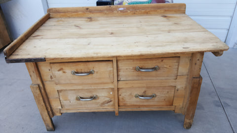 4 Drawer Work Table
