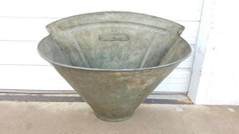 Zinc Fruit & Wine Harvesting Bucket