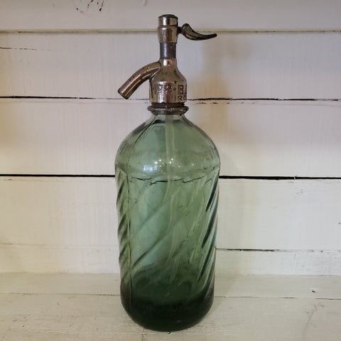 Antique Argentinian Seltzer Bottle