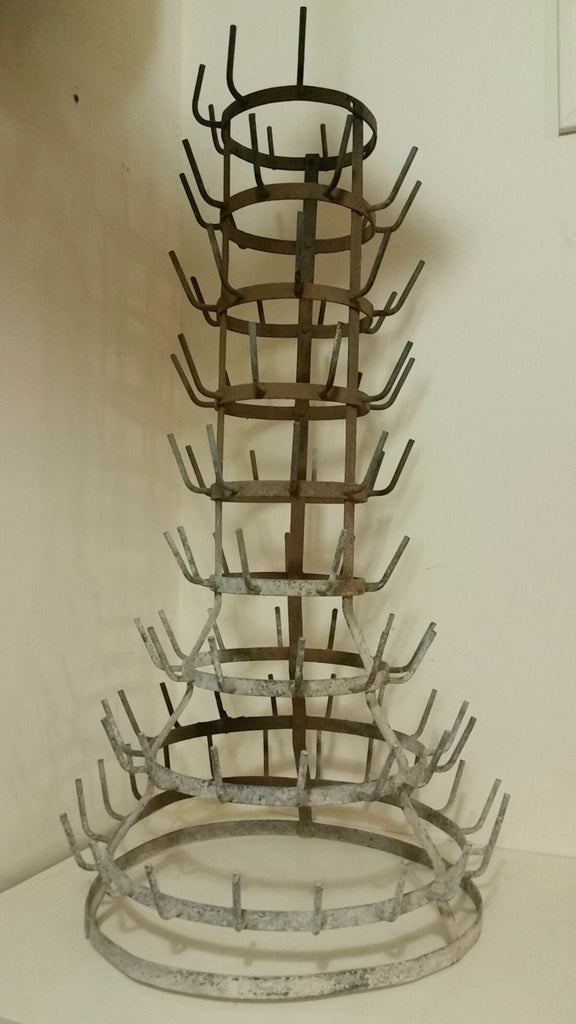 9 Tier French Bottle Drying Rack