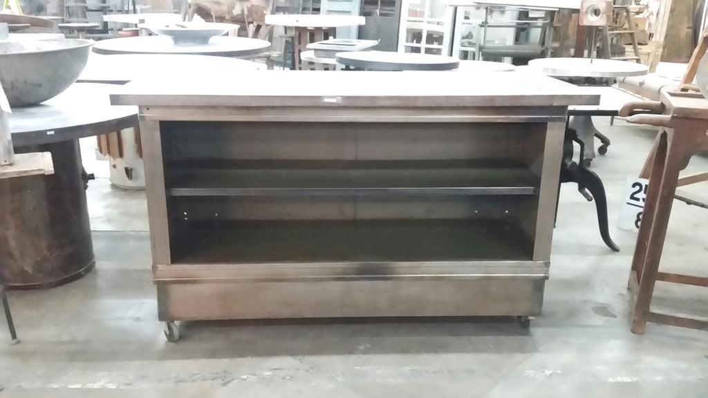 Industrial Stainless Steel Island/Counter