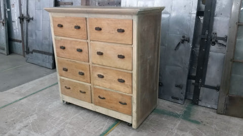 Antique 8 Drawer Dresser