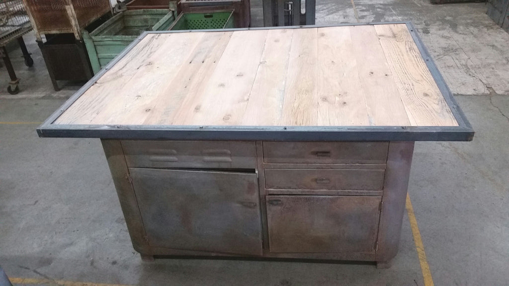 Industrial Kitchen Island/Table