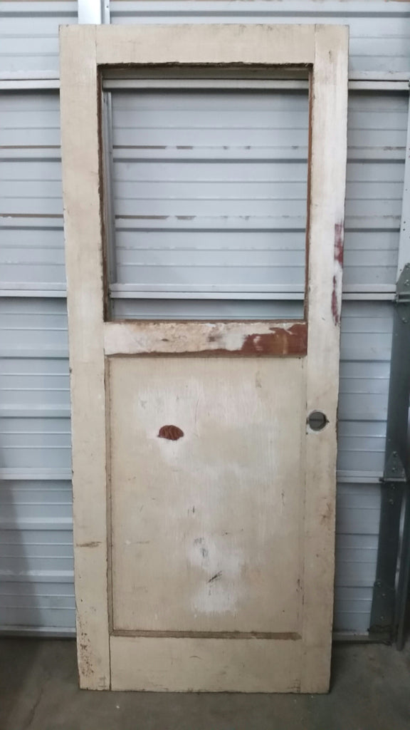 Wood Door without Glass