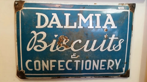 Dalmia Biscuits & Confectionery Porcelain Sign