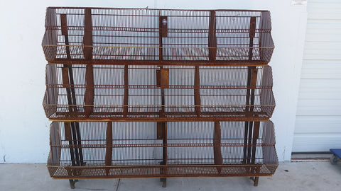 Metal Store Rack/Storage Bins