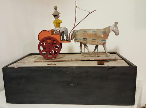 Folk Art Horse / Carriage by  Harold Haeg from Indiana