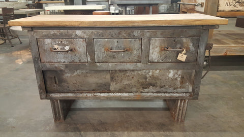Industrial Work/ Console Table