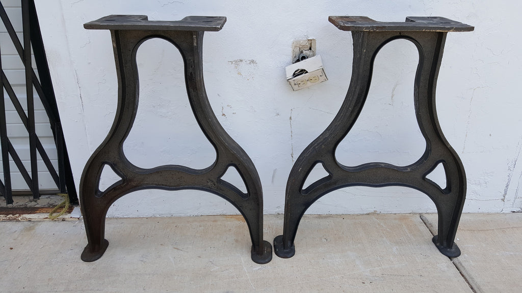 Pair of Industrial Table Bases/Legs
