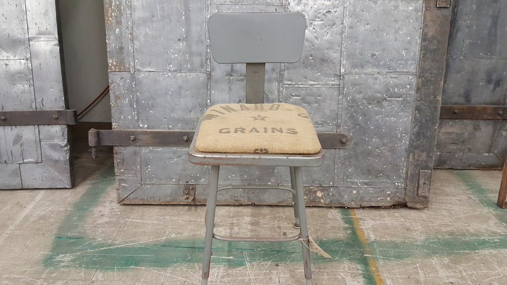 Metal Shop Chair