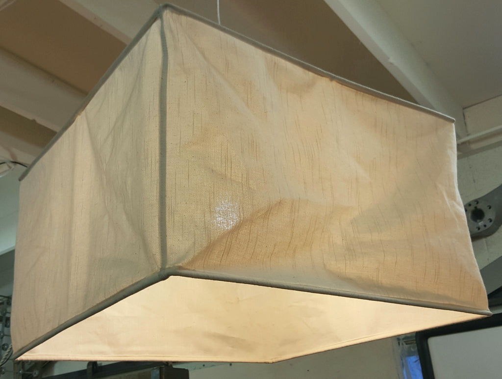 Square Muslin Lamp Shade