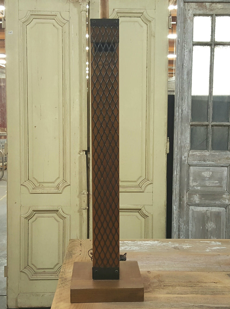 Repurposed Organ Pipe Floor Lamp