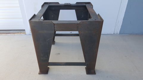 Industrial Iron Table Base