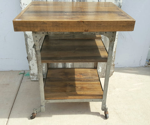 3 Tier Rolling Island / Work Table