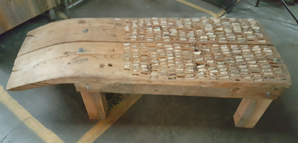 Threshing Board Coffee Table