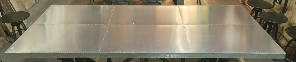 Stainless Steel Riveted Table Top