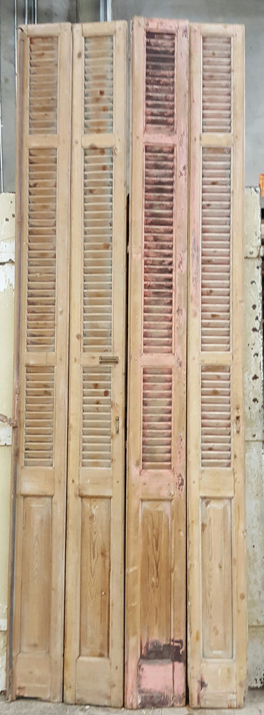 Set of 4 Narrow French Shutters