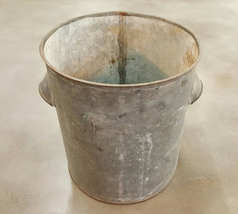 Galvanized Bucket with 2 Handles