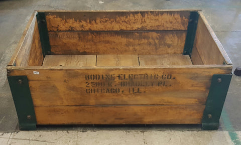"""Chicago"" Wooden Crate"