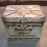 Snow Flake Tin Box, Pacific Coast Biscuit Company