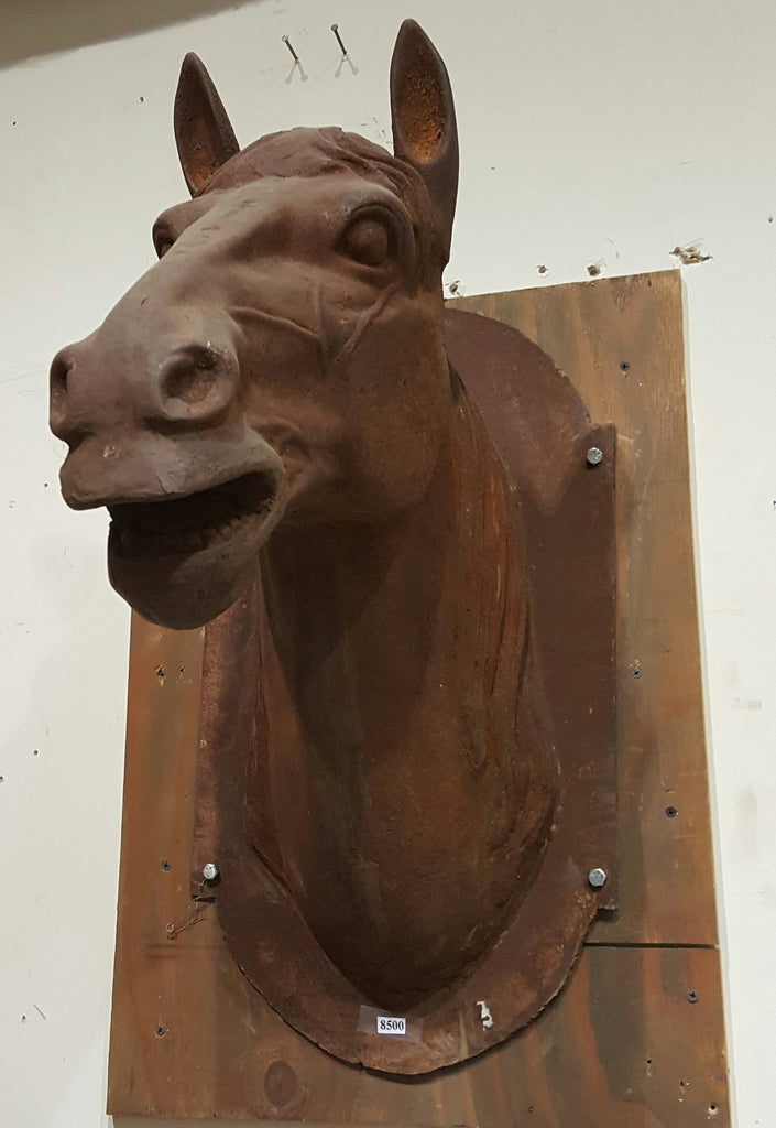 Large Iron Horse Head