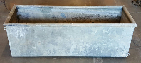 Galvanized Garden Trough/Planter