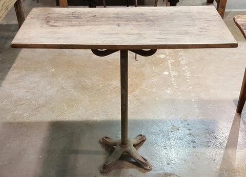 Small Antique Bar Table