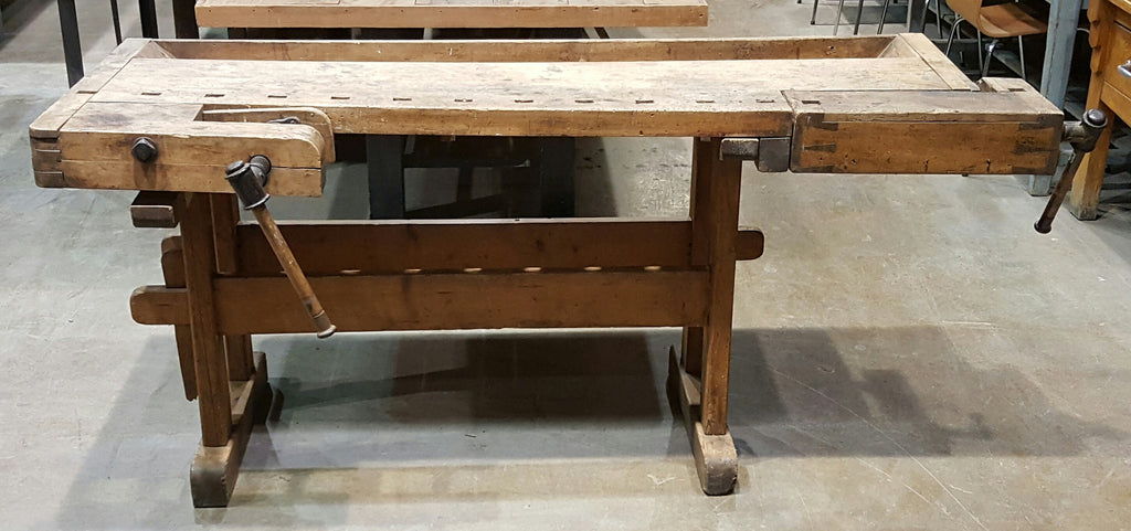 Antique Wooden Work Table