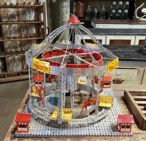 Children's Erector Set Merry-Go-Round