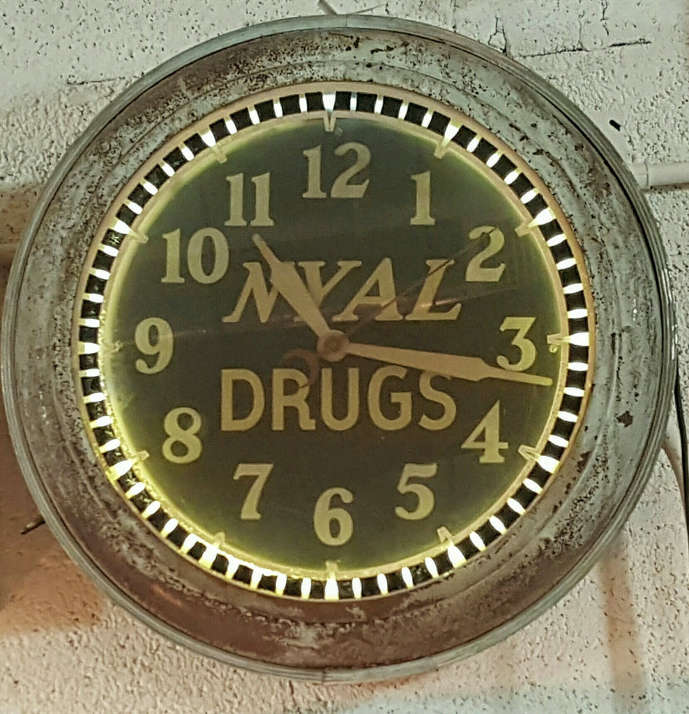 "Clock ""NYAL Drugs"""