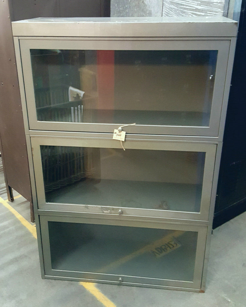 Industrial Metal Lawyers Bookcase/Cabinet