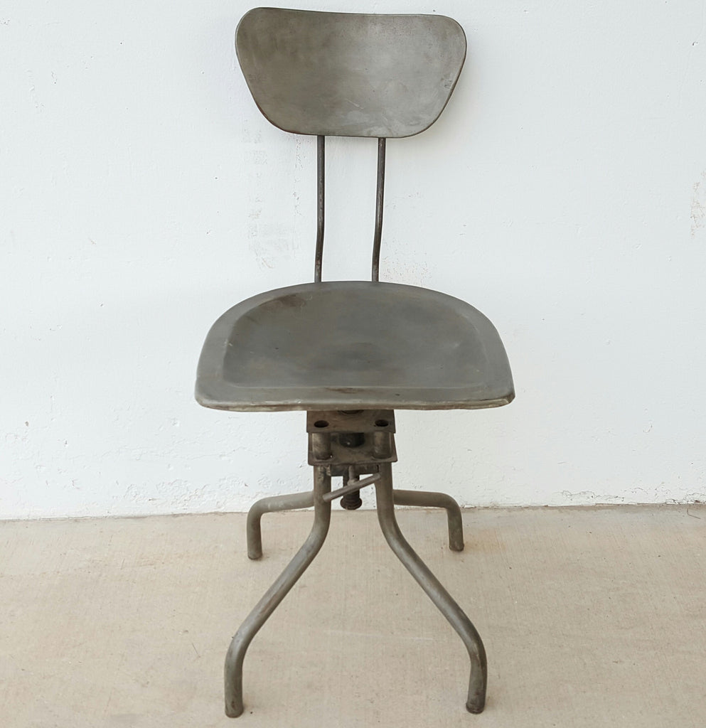 Vintage Adjustable Metal Chair