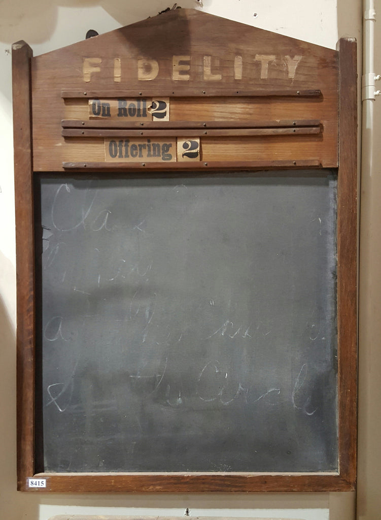 Fidelity Church Chalkboard