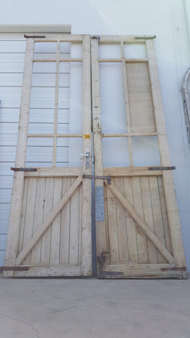 Barn Stall Door Pair