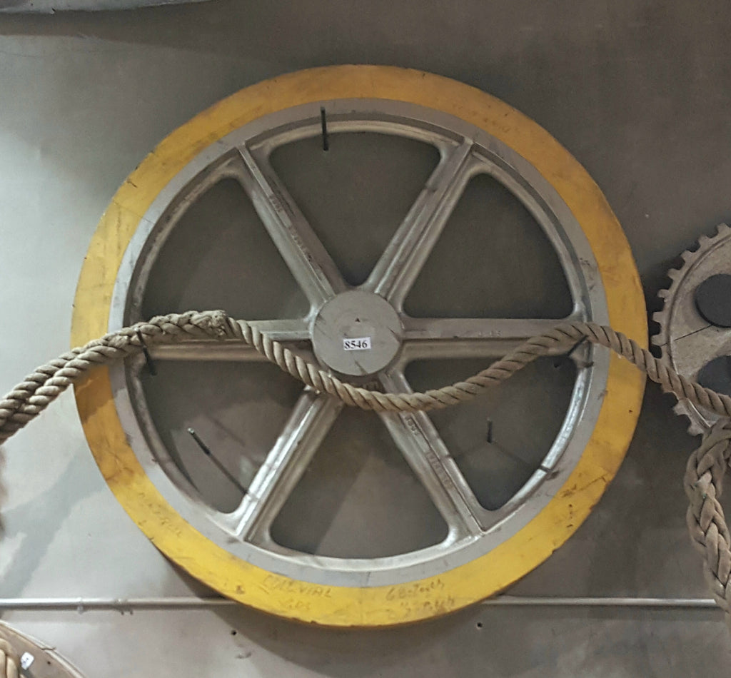 Large Yellow Industrial Wheel/Gear