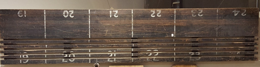 Old Michigan Factory Sorting Table Top