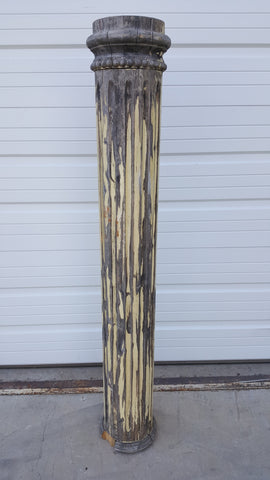 Fluted Wood Architectural Column