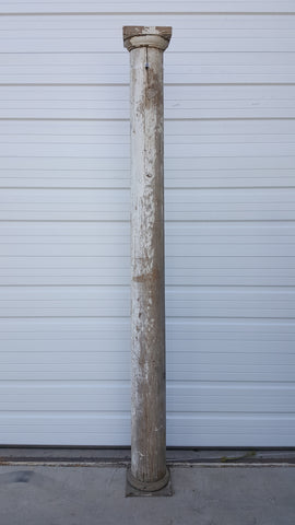 White Architectural Column