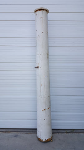 Large White Architectural Column