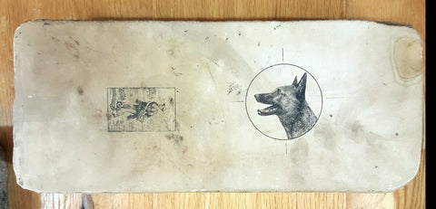 "Litho Stone, ""German Shepard"""