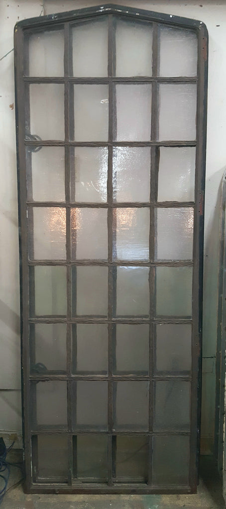 Single Iron and Glass Window