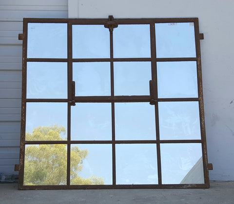 Large Rusted Mirror