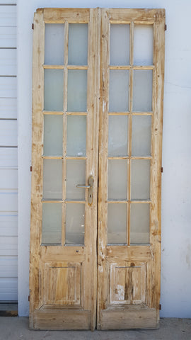 Pair of 10-Pane Doors