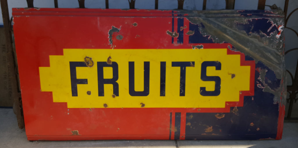 Fruits Sign (Restaurant)