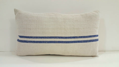 Rectangular French Grain Sack Pillow