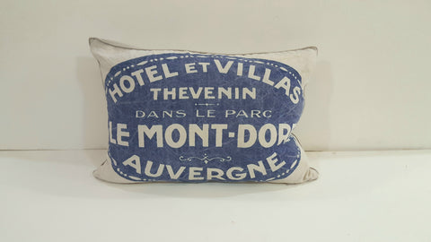 """Hotel et Villas"" Pillow"